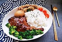 这令人熟悉的味道鸭腿盖饭#今天吃什么#的做法