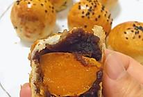蛋黄酥 手抓饼之空气炸锅版的做法