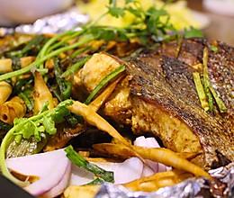 你现在什么都想吃的之-酱香烤鱼的做法