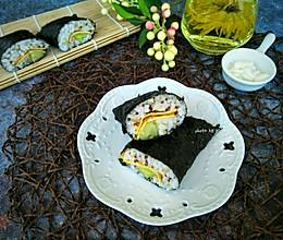 藜麦紫纸包饭#炎夏消暑就吃「它」#的做法