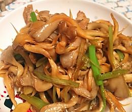 清炒蘑菇的做法
