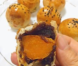 蛋黄酥|手抓饼之空气炸锅版的做法