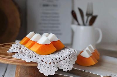木瓜奶凍——夏天甜品