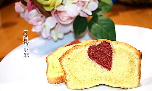 心机磅蛋糕-七夕表白神器的做法