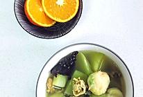 莴笋扇贝鱼丸汤的做法
