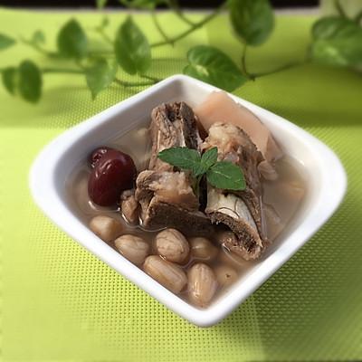 花生莲藕猪骨汤