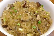 【萬字纯酿造酱油试用之一】香菇肉末土豆粉丝锅的做法