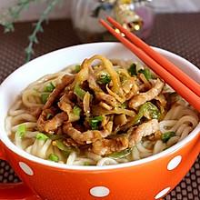 榨菜肉丝面--乌江榨菜