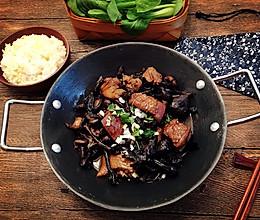 东北土鸡炖榛蘑的做法