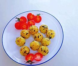日式蔬菜饭团的做法