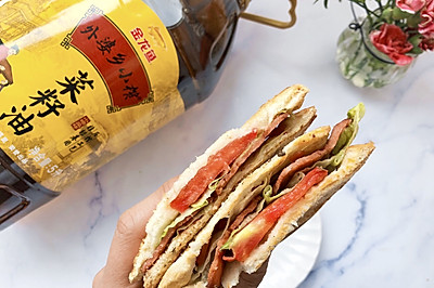 #寻味外婆乡#培根三明治