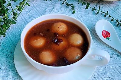 软糯香甜的红豆汤圆