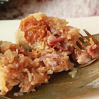 鲜肉鸭蛋黄粽子(内含红豆大枣口味)的做法图解31