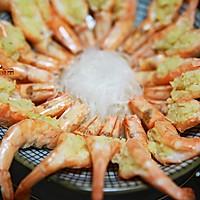蒜茸粉丝开边虾的做法图解16