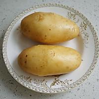蒜香烤土豆的做法图解1