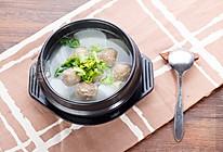 鑫潮牛牛肉丸白萝卜汤的做法