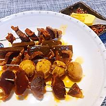 #爱乐甜夏日轻脂甜蜜#咸香中透着甜辣的卤汁串串