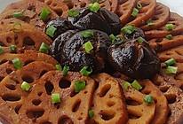 卤藕卤香菇的做法