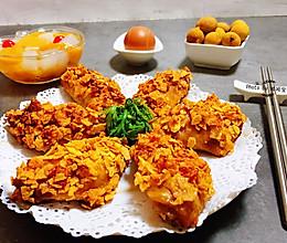 #憋在家里吃什么#薯片鸡翅的做法