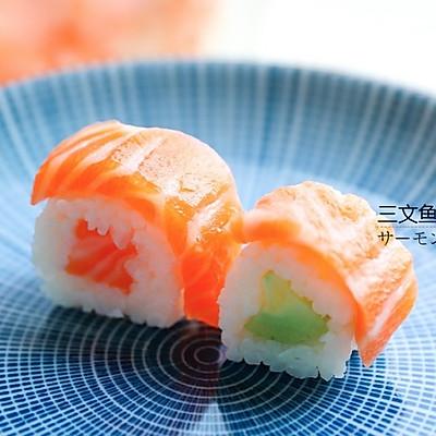 简易便当美味-剩饭三文鱼寿司