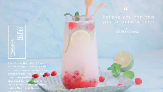 """#""""莓""""好春光日志#奶香蔓越莓气泡水的做法"""