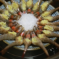 蒜茸粉丝开边虾的做法图解15