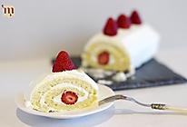 草莓奶油瑞士卷/戚风卷的做法