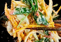 日式炸什锦蔬菜的做法