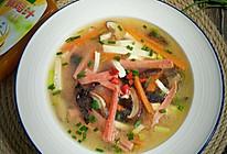低脂鲜辣汤#太太乐鲜鸡汁玩转健康快手菜#的做法
