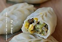 芸豆榨菜碎素蒸饺的做法