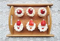 #安佳食力召集,力挺新一年#圣诞杯子蛋糕的做法