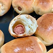 超简单香肠小餐包(面包机做面团)