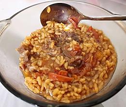 番茄牛腩饭的做法