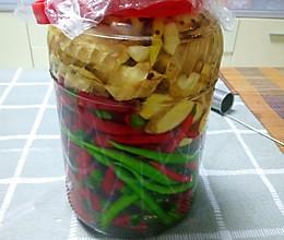 泡姜椒的做法