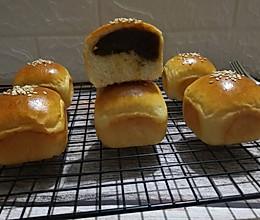 枣泥小面包的做法