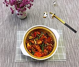 #憋在家里吃什么#鸡公煲(家庭简易版)的做法