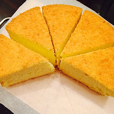 8寸戚风蛋糕(超完美)
