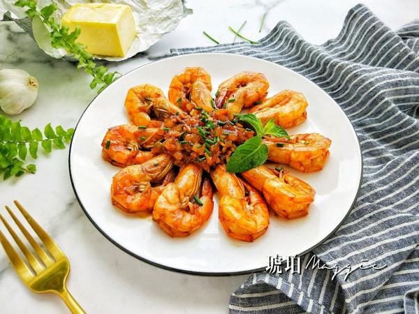 黄油茄汁大虾的做法