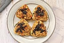#换着花样吃早餐#㊙️米饭神仙吃法 日式芝士饭团的做法