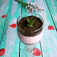 草莓酸奶盆栽