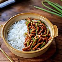 青椒肉丝盖浇饭的做法图解12