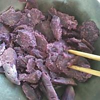 小点心~椰蓉紫薯球。的做法图解4