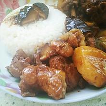 红烧鸡块炖土豆~美味的下饭菜