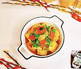 #百变鲜锋料理#蚝油香菜千页豆腐的做法