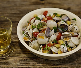 酒香蛤蜊 美食台的做法