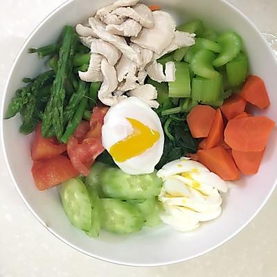 健康瘦身蔬菜色拉