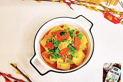 蚝油香菜千页豆腐