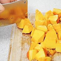 百合蜜汁南瓜(秋季润燥)的做法图解2