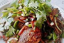 干锅耗儿鱼(配菜的味道很好,下饭,吃两碗)的做法