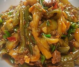 东北家常肉末茄子的做法